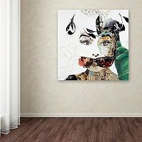 Trademark Fine Art Audrey Canvas Wall Art