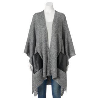 Lenore by La Regale Sweater Knit Kimono