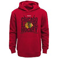 Boys 8-20 Reebok Chicago Blackhawks Cross Stix Hoodie