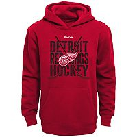 Boys 8-20 Reebok Detroit Red Wings Cross Stix Hoodie