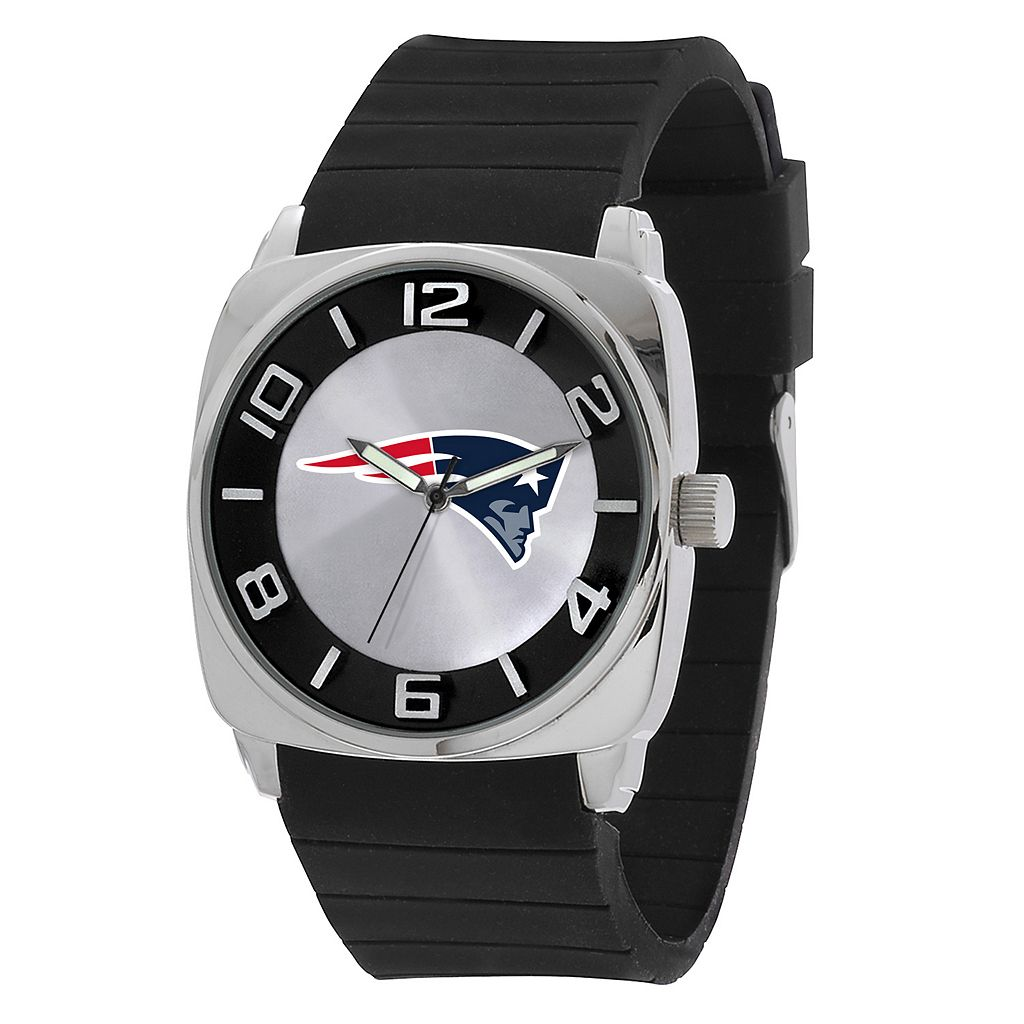 Men's Sparo New England Patriots Forever a Fan Watch