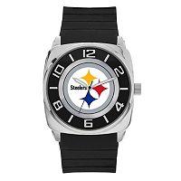 Men's Sparo Pittsburgh Steelers Forever a Fan Watch