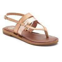 SO® Barge Women's Slingback Sandals