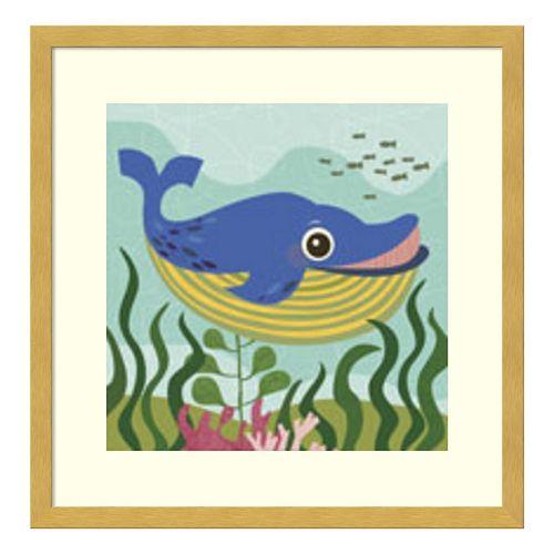 Walter Whale Framed Wall Art
