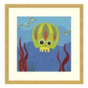 Jenny Jellyfish Framed Wall Art