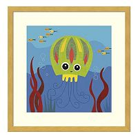 Jenny Jellyfish Framed Wall Art