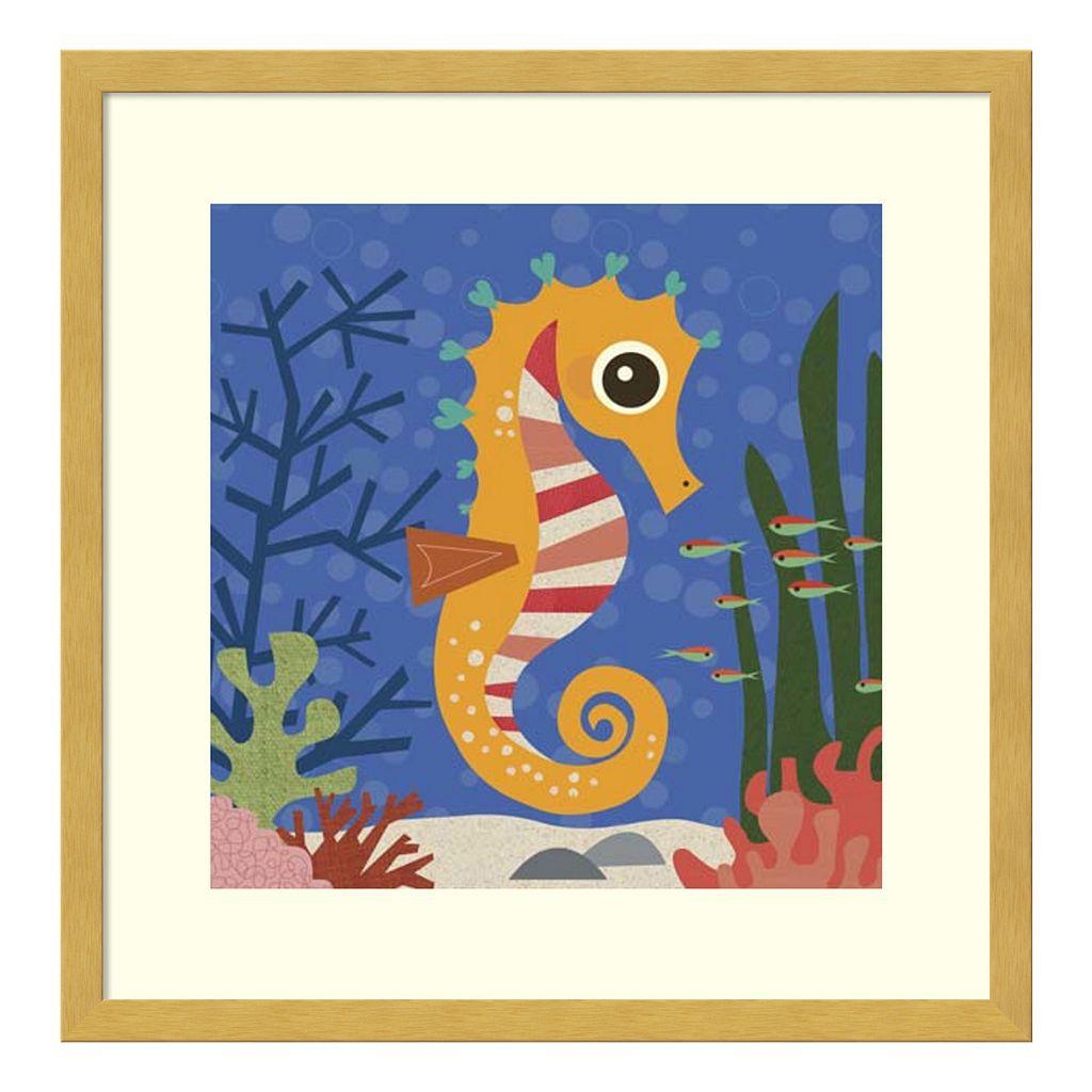 Samuel Seahorse Framed Wall Art