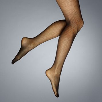 Simply Vera Vera Wang Brick Sheer Control-Top Tights