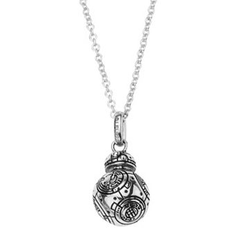 Star Wars: Episode VII The Force Awakens Sterling Silver 3D BB-8 Pendant