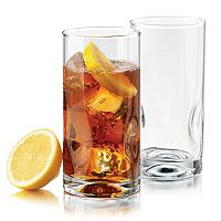 Food Network Pinch 4 pc Highball Glass Set