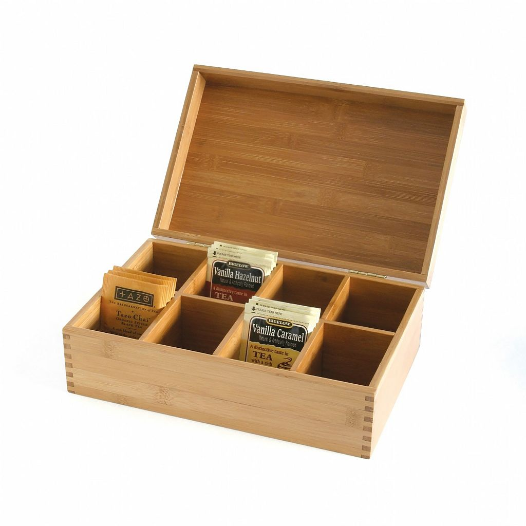 Lipper Bamboo Tea Box