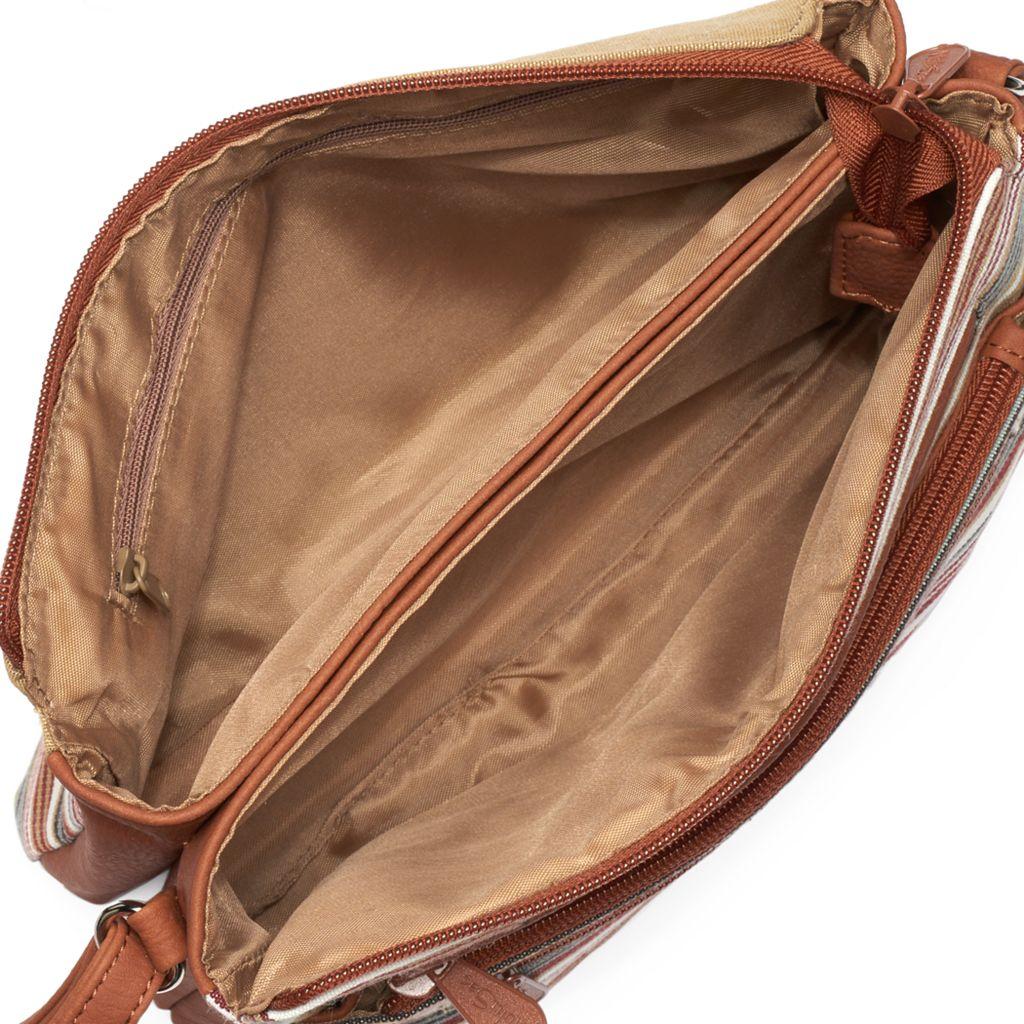 MultiSac Hunter Striped Crossbody Bag