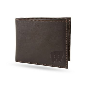 Sparo Wisconsin Badgers Shield Billfold Wallet