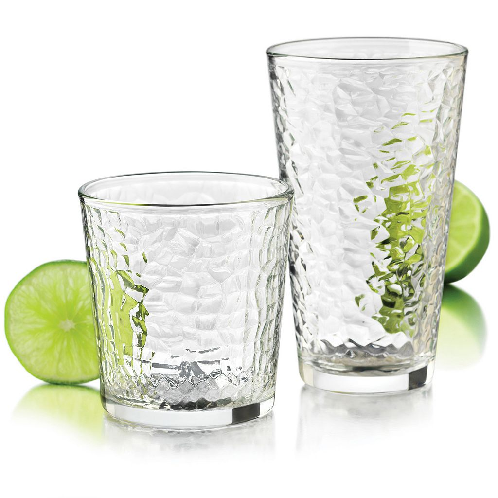 Food Network Ice 16-pc. Glassware Set