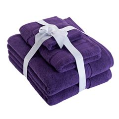 Chaps Home 6 pc Turkish Cotton Luxury Bath Towel Set