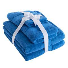 Chaps Home 6-piece Turkish Cotton Luxury Bath Towel Set