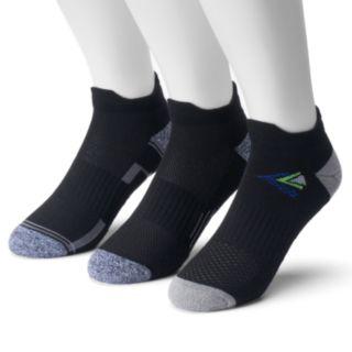 Men's Tek Gear® 3-pack CoolTek Double-Tab Performance Low-Cut Running Socks