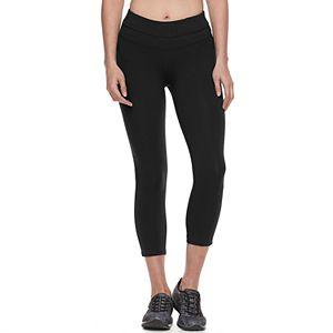 1839b012914a5 Women s Tek Gear® Shapewear Shirred Capri Workout Leggings