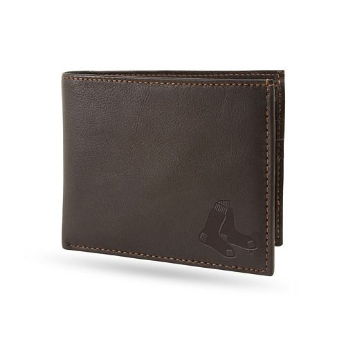Sparo Boston Red Sox Shield Billfold Wallet