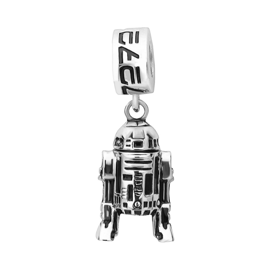 Star Wars Sterling Silver R2-D2 Charm