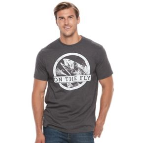 """Big & Tall SONOMA Goods for Life? """"On The Fly"""" Fishing Tee"""