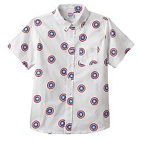 Boys 8-20 Marvel Captain America Button-Down Shirt