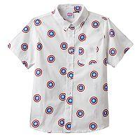 Boys 8-20 Marvel Captain America Button-Down Shirt