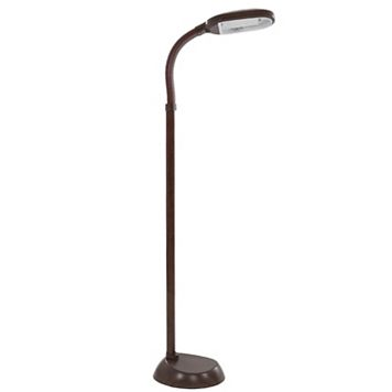 Portsmouth Home Sunlight Brown Floor Lamp