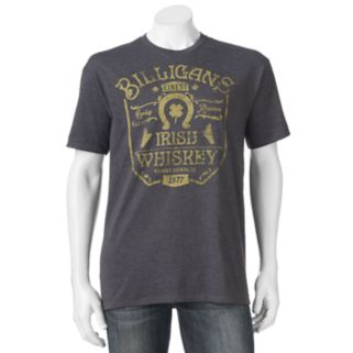 "Big & Tall SONOMA Goods for Life™ ""Billigans Irish Whiskey"" Tee"