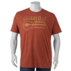 "Big & Tall SONOMA Goods for Life™ ""Louisville Guitars"" Tee"