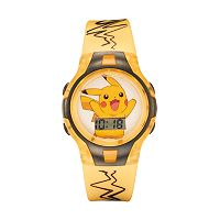 Pokémon Pikachu Kids' Digital Light-Up Watch