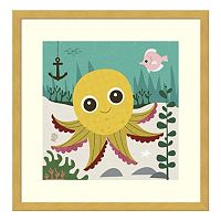 Olga Octopus Framed Wall Art