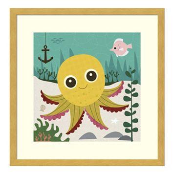 Olga Octopus Framed Wall Art