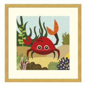 Carla Crab Framed Wall Art
