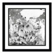 Iza's Garden I Daisies Framed Wall Art