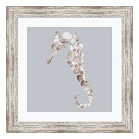 Seahorse Print Framed Wall Art