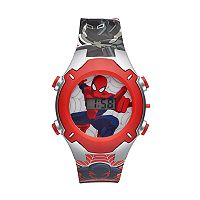 Marvel Comics Spider-Man Kids' Digital Light-Up Watch