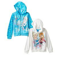 Disney's Frozen Elsa & Anna Girls 4-6x Hoodie Set