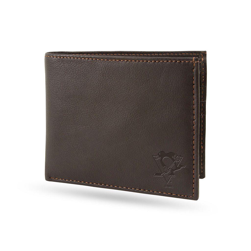Sparo Pittsburgh Penguins Shield Billfold Wallet