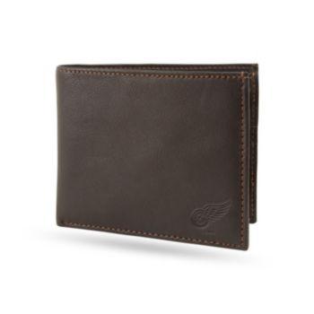 Sparo Detroit Red Wings Shield Billfold Wallet