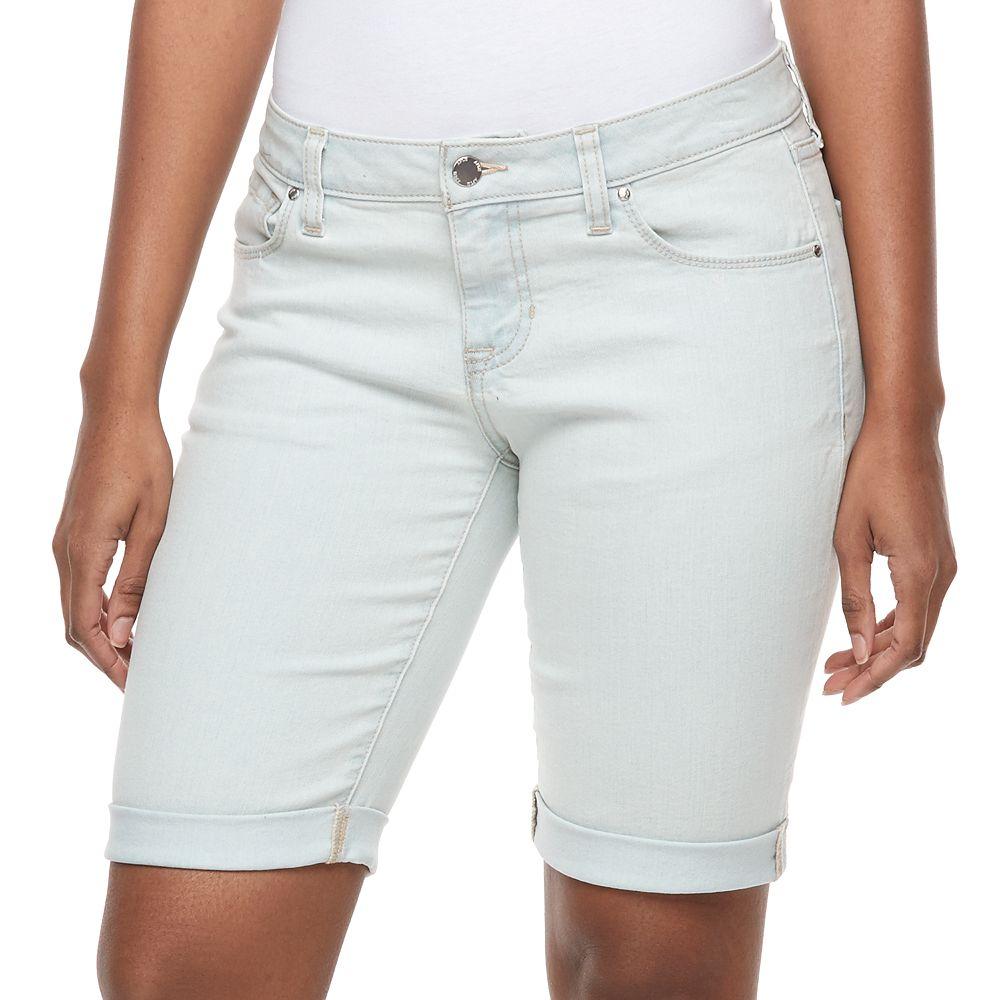 Apt Bermuda Jean Shorts