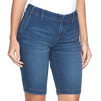 Women's Apt. 9® Bermuda Jean Shorts