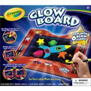 Crayola Color Explosion Glow Board Set