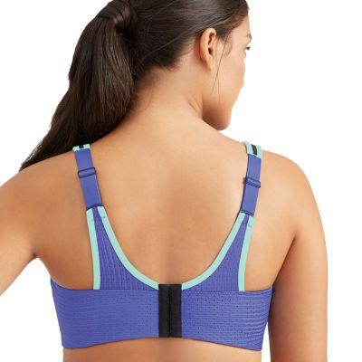 Glamorise Bras: High-Impact Full-Figure Adjustable Underwire Sports Bra 9166