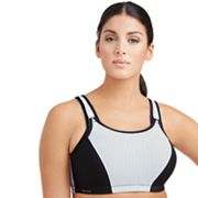 Glamorise Bras: High-Impact Full-Figure Adjustable Underwire Sports Bra 9166