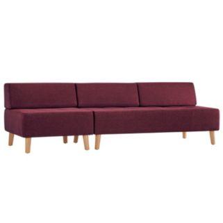 HomeVance Palos Tufted Armless Sofa