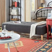 HomeVance Palos Coffee Table Ottoman