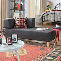 HomeVance Palos Tufted Chaise