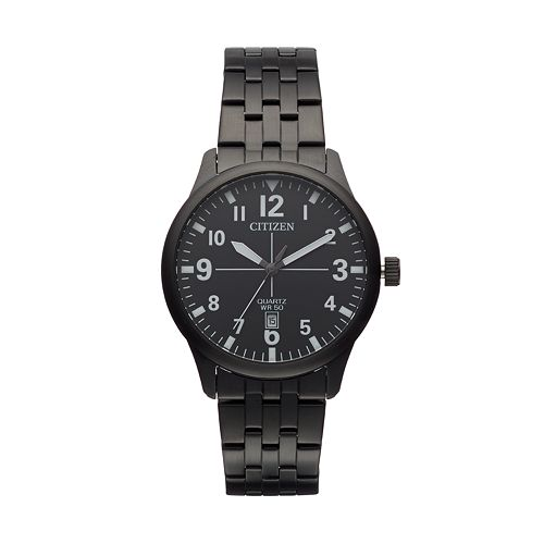 Citizen men 39 s stainless steel watch bi1055 52e for Watches kohls