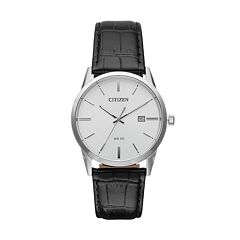 Citizen Men's Leather Watch - BI5000-01A